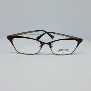 COACH Rx Eyeglasses Satin Brown Sand